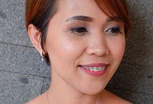 Bridesmaid For Lia & Prasad Wedding by Yuka Makeup Artist