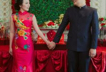 Engagement Ceremony Of  Michael Leon & Leni Lai by SAS designs