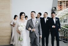 The Wedding of Adel + Donny by SAS designs