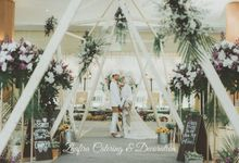 The wedding Esti & Naufal by Zhafira Catering & Decoration