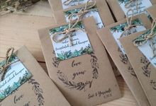 Seed Package Kemas Amplop by Green Souvenirs