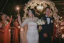 The Wedding Of Erwin & Novira by SAS designs