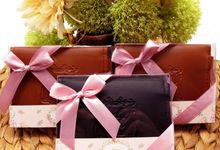 Pouch Key Include Clear Box & Personalised Label by Fine Souvenir