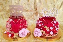 Sangjit cake by YUCA Creations