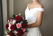 Bride Clarice by Makeup by Joy Mabasa