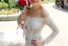 Bride Kyra ❤️ by Shino Makeup & Hairstyling