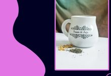 Mug Gentong Mini wedding issam dan sofa by Mug-App Wedding Souvenir