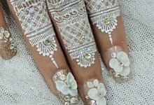 Special Request Wedding Nails by Sarjanakuku