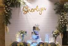 Sweet 17th Sherlyn's Birthday Dinner Party by Belfiore Florist