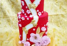 Sangjit cake by YUCA Creations