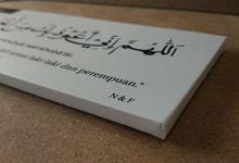 Souvenir Pernikahan Islami Doa Harian by Kriya Tara