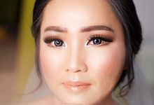 Bride Ms. Shelley by Yovita Chandra Makeup Artist