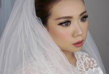 Bride MakeUp by Makeup & Hairdo by Meivy Putri