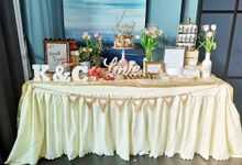 Solemnization Dessert Table by Baker V