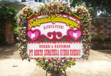 Flower Board by Bahagia Florist