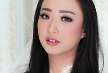 Bride look by Kezia Kartika