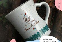 F.Mini Love Wedding Dewi Dan Adam by Mug-App Wedding Souvenir