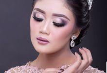 Bride In Peach by Aisya Argubi