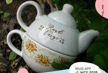 Special Wedding Randy&Tasya by Mug-App Wedding Souvenir