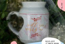MUG GIFT WEDDINGKU by Mug-App Wedding Souvenir