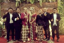 Prilly & Wishal Wedding Ceremony by 1548 band