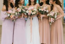 Bride & Bridesmaids by Makeup Entourage by MAKEUP ENTOURAGE