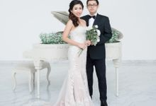 Mermaid Wedding Gown by Angela Karina