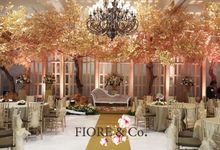Golden Wedding Anniversary Decoration by FIORE & Co. Decoration