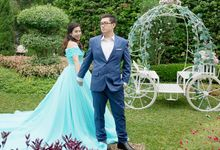 Cinderella Prewedding by Angela Karina