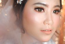 Bride Ms. Sarah by Yovita Chandra Makeup Artist