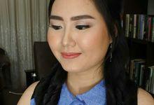 Dessi's Bridesmaid Hair by Stefanie Soe MUA & Hairstylist
