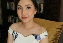 Dewi's Bridesmaid Hair by Stefanie Soe MUA & Hairstylist