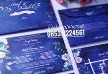 Navy Invitation by Yulisma Amani Photography