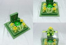 Kotak Cincin by Rieens Box N' Craft