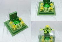 Kotak Cincin by Rieens Box N' Craft