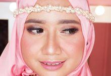 Hijab Makeup by Yuka Makeup Artist
