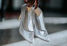 Mrs.Yonnika Wedding by Wedding shoes by Biondi
