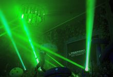 @lasermanjakarta show at mercurealamsutera by Laserman show