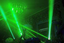 @lasermanjakarta show at mercurealamsutera by Laserman show