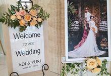 The Wedding Of Adi & Yury by Miracle Wedding Bali