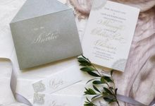 Wedding invitations by xuecalligraphy