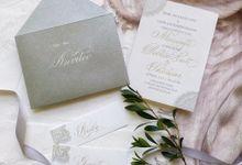 Wedding invitations by xuecalligraphy