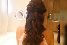 Makeup & Hairstyle for Brideamaid by WillieHaz Hair & Beauty