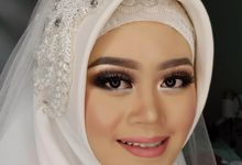 Nilla's Wedding by Dian Salon