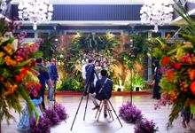 The Wedding Of Anti & Dimas by HENRY BRILLIANTO