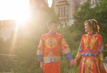 Overseas Pre Weddings Makeup And Hairstyling by yukifangmakeup