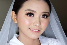 Bride Makeup - Innocent Princess by Rosenmakeup