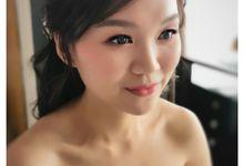 Ad Wedding Bridal makeup And hairdo by yukifangmakeup