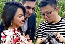 Pre-wedding Photoshoot Cheers by Angel Chua Makeup and Hair