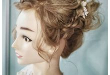 Bridal Hairstyles by yukifangmakeup